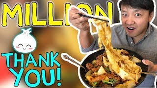 THANKS A MILLION! || Food Adventure GIVEAWAY [Closed] - Video Youtube