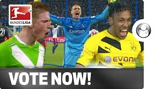 Aubameyang, De Bruyne Or Drobny - Vote For Your Player Of The Week!