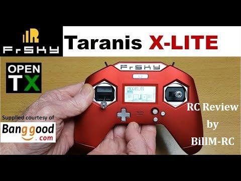 Frsky Taranis X-LITE review video