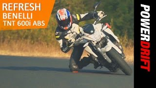 New Benelli TNT 600i with ABS : PowerDrift