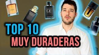 Top 10 mejores fragancias que duran muchísimo
