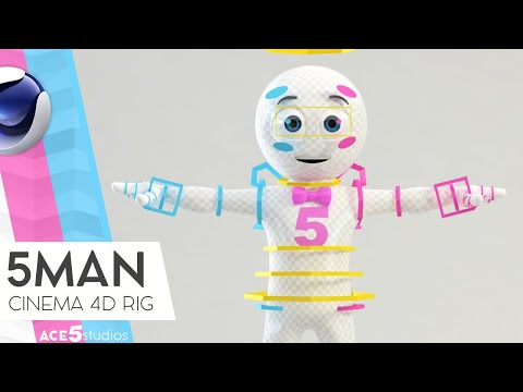 How to scale rigged Characters in Cinema4D - смотреть онлайн на Hah Life