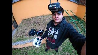 FPV Diatone Taycan 25 EVA con GoPro 9 Back