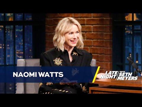 Naomi Watts' Kids Help Her Work the Remote