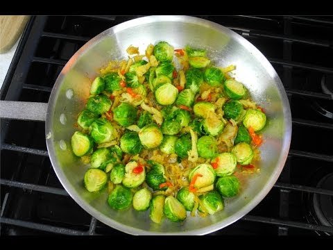 , title : 'The Best Brussel Sprouts Recipe Ever  - A Caribbean Twist!