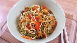 Noodles con Verdure   Ricetta - SugarDany89