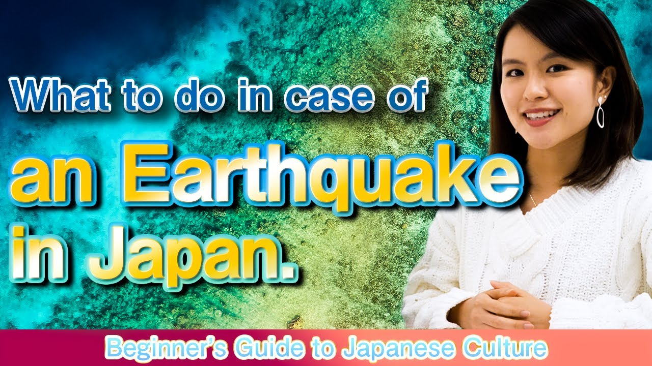 What To Do in Case of an Earthquake in Japan | Different Scenarios | Recommended Emergency Apps Etc!