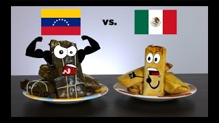 Hallacas vs. Tamales   mitú