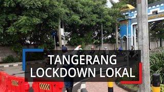 Langkah Tegas, Puspemkot Tangerang Lockdown Lokal, Tutup Akses Pengendara Disuruh Putar Arah