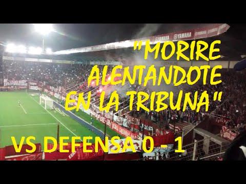 """""""""""Moriré alentándote en la tribuna"""" - La hinchada vs Defensa 0 - 1"""" Barra: La Barra del Rojo • Club: Independiente"""