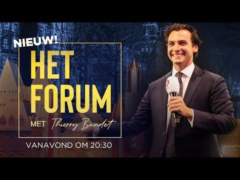 Nieuw! HET FORUM met Thierry Baudet LIVE!