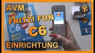 Einrichtung & Konfiguration: AVM FRITZ! Fon C6 an der FRITZ! Box