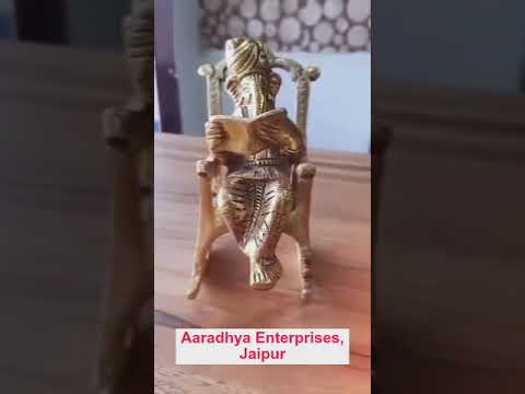 Gold Plated Sitting Ganesha For Return Gift