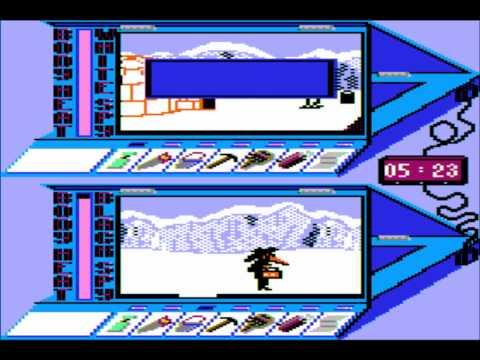 Spy vs Spy III: Arctic Antics for the Apple II