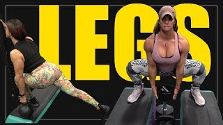Hybrid Bodybuilding / Athletic Leg Workout | MUST TRY
