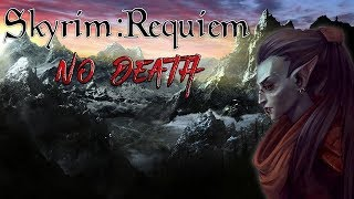 Skyrim - Requiem 2.0 (без смертей) - Темная эльфийка-маг #3 Охотница на бандитов