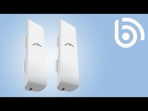 Ubiquiti: How to set up a Point to Point Bridge