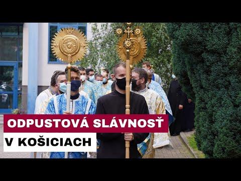 Eparchiálna odpustová slávnosť v Košiciach