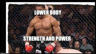 Lower Body Strength & Explosive Power (Bodyweight Training)
