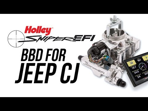 Sniper EFI BBD For Jeep CJ