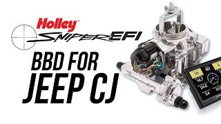 Holley (550-858): Sniper EFI BBD for Jeep CJ