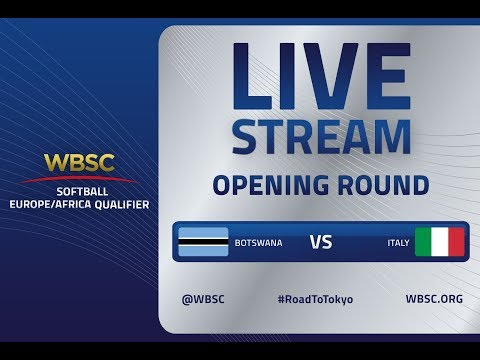 Botswana v Italy – WBSC Softball Europe/Africa Qualifier