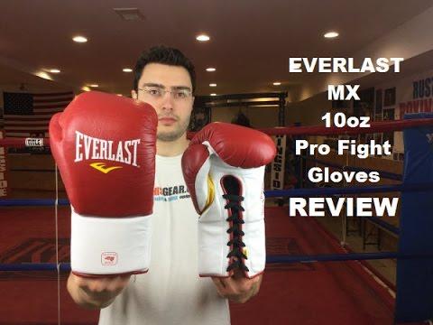 Боксерские перчатки боевые Everlast MX Pro Fight