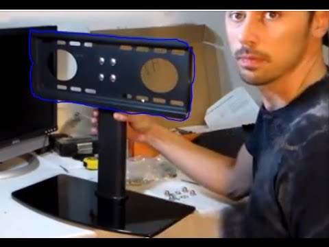 How to Setup any Flatscreen TV on Stand review