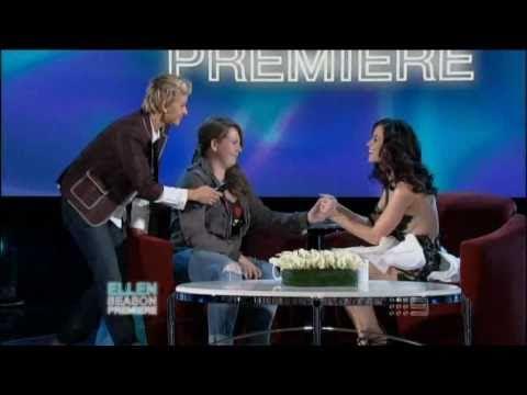 Katy Perry met her adoring fan (Ellen)