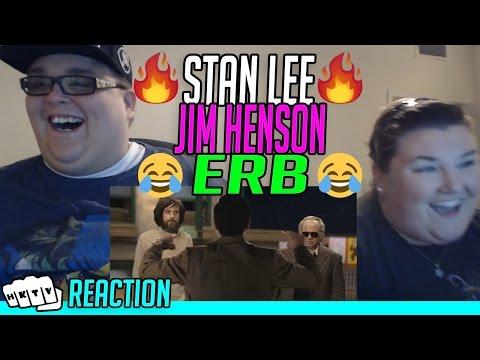 JIM HENSON vs STAN LEE ERB REACTION!!🔥