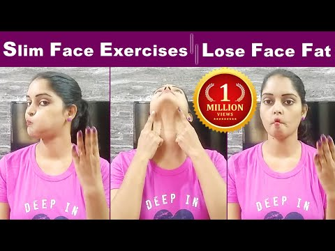 How to Lose Face FAT In Telugu||Get Slim Face In 1 Week