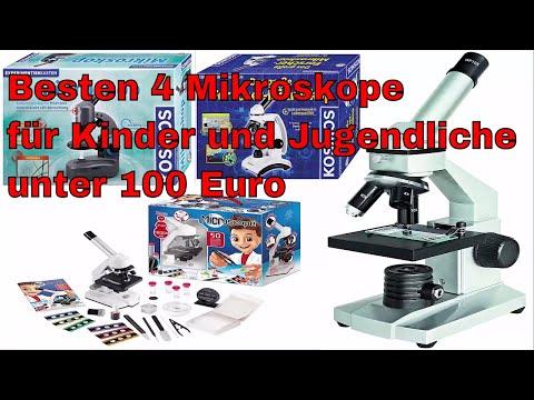 Die besten 4 Mikroskope für Kinder und Jugendliche unter 100 Euro kaufen - Test 2017
