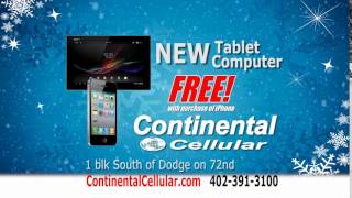 Continental Cellular Holiday 2015 Commercial