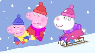 Peppa Pig Full Episodes 🎄Christmas Special ❄️Cold Winter Day ❄️ Cartoons for Children