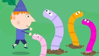 Ben and Holly's Little Kingdom   Worm Hunting   1Hour   HD Cartoons for Kids