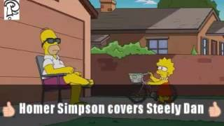 Homer Simpson covers Steely Dan