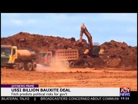 US$2 Billion Bauxite Deal - Joy News Prime (30-8-18)