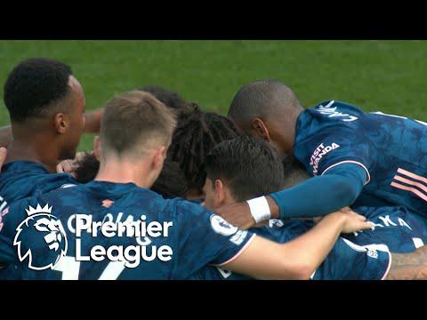 Pierre-Emerick Aubameyang puts Arsenal 3-0 up against Fulham   Premier League   NBC Sports