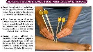 Stimulate your senses withtuning forks healing frequencies