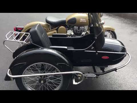 2017 Royal Enfield Bullet, With Sidecar