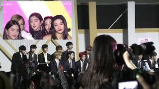 181220 NCT × WANNA ONE REACTION RED VELVET - BUTTERFLIES, POWER UP [KOREAN POPULAR MUSIC AWARDS]