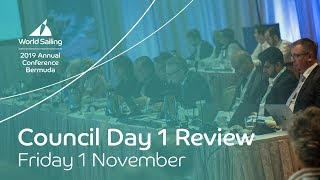 World Sailing: Watch the video news release from Friday's Council meeting; not a peep about  the