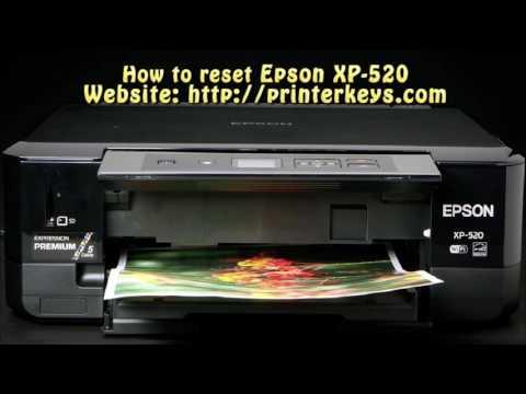 Reset Epson Xp520, Xp620, Xp625, Xp720, Xp760, Xp820 ,Xp860
