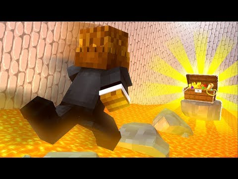 Race Against Lava Parkour - Minecraft Lava Run Challenge! | JeromeASF