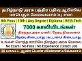 தமிழ்நாடு அரசு பத்திர பதிவு ஆபிஸில் வேலைவாய்ப்பு 2020 |Permanent Job| Tamilnadu Government Jobs 2020