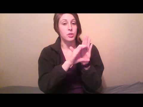 A Basic Course in ASL Vocab Lesson 6 - YouTube