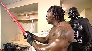 """Booker T meets """"Darth Goldust"""": Raw, July 1, 2002"""