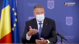 AlegeriLocale2020/ Iohannis: Dacă se respectă regulile, riscul infectării cu SARS-CoV-2 în secţiile de votare - redus la minimum