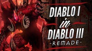 Diablo 1 Remake On Diablo 3 Game Engine