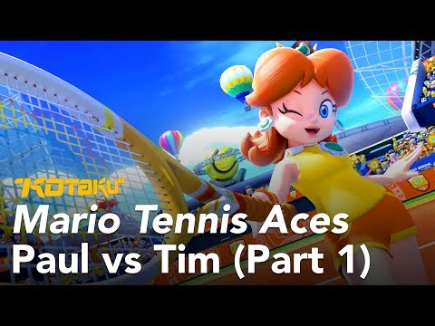 Watch Us Play Mario Tennis Aces